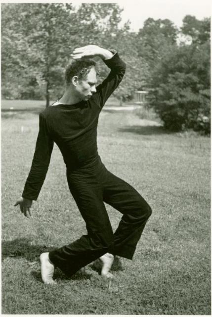 Merce Cunningham at Black Mountain College  (1948)